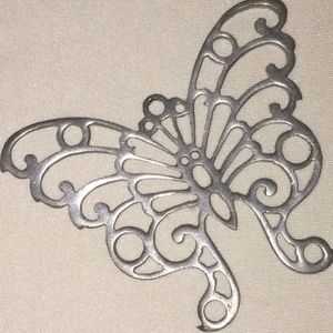 REED & BARTON PEWTER BUTTERFLY